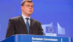 Kommisjonens nestformann Valdis Dombrovskis (foto: Europakommisjonen)